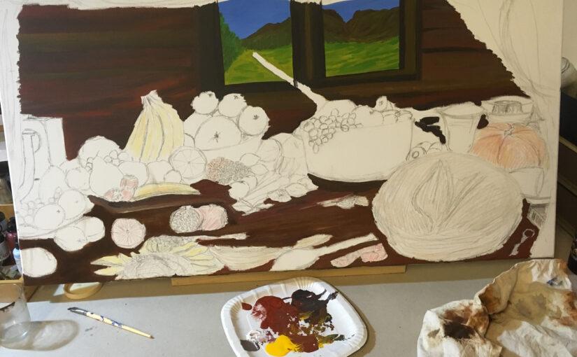 «Meine Welt ist Farbe»  Werkausstellung von Rudy Van Kerckhove